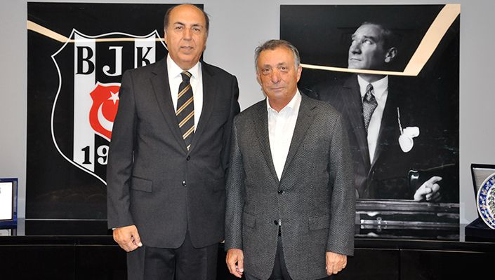 Prof. Dr. Aydın Ayaydın'dan Başkanımız Ahmet Nur Çebi'ye Ziyaret