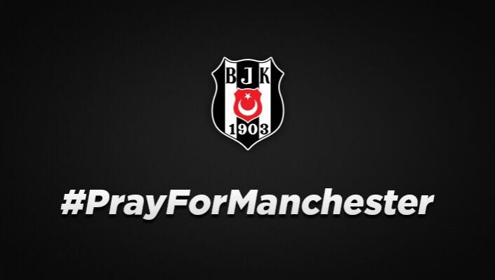 Our prayers and thoughts are with Manchester