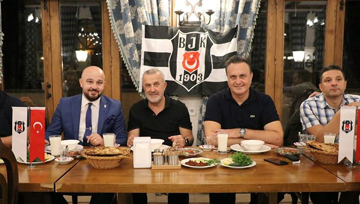 Yönetim Kurulu Üyelerimiz, Gaziantepli Beşiktaşlılarla Buluştu