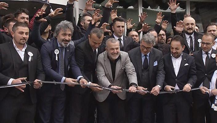 Yönetim Kurulu Üyelerimiz, Sivas Beşiktaşlılar Derneği'nin Açılış Törenine Katıldı