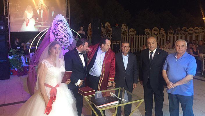 Yönetim Kurulu Üyemiz Erdal Karacan, Nikah Şahitliği Yaptı