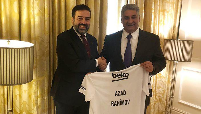 Yönetim Kurulu Üyemiz Umut Şenol'dan Azerbaycan Gençlik ve Spor Bakanı Azad Rahimov'a Ziyaret