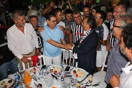 Ahmet Nur Çebi, Milaslı Beşiktaşlılar ile Şampiyonluk Kutlaması Fotoğrafları