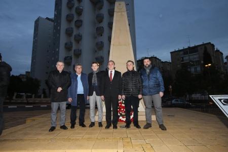 Yönetim Kurulu Üyelerimizden Beer Sheva Kentinde Şehitler Anıtına Ziyaret