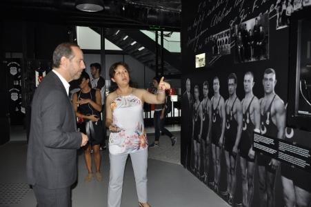 Argentina's Istanbul General Consular visits Beşiktaş Museum