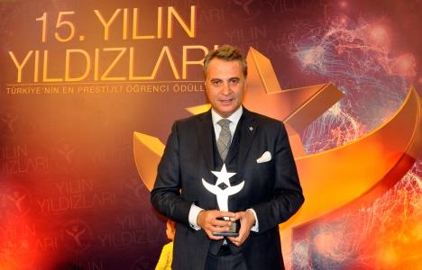 Başkanımız Fikret Orman, Ömür Boyu Yıldızlı Ödülünün Sahibi Oldu