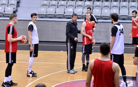 29 Mart Basketbol Antrenmanı