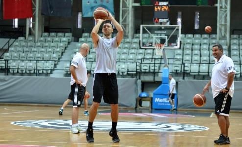 14 Ağustos Basketbol Sabah Antrenmanı