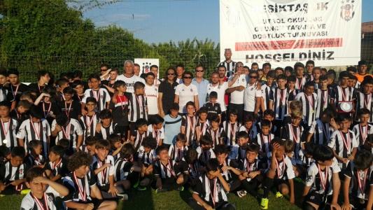 Friendship tournament at Beşiktaş soccer schools...